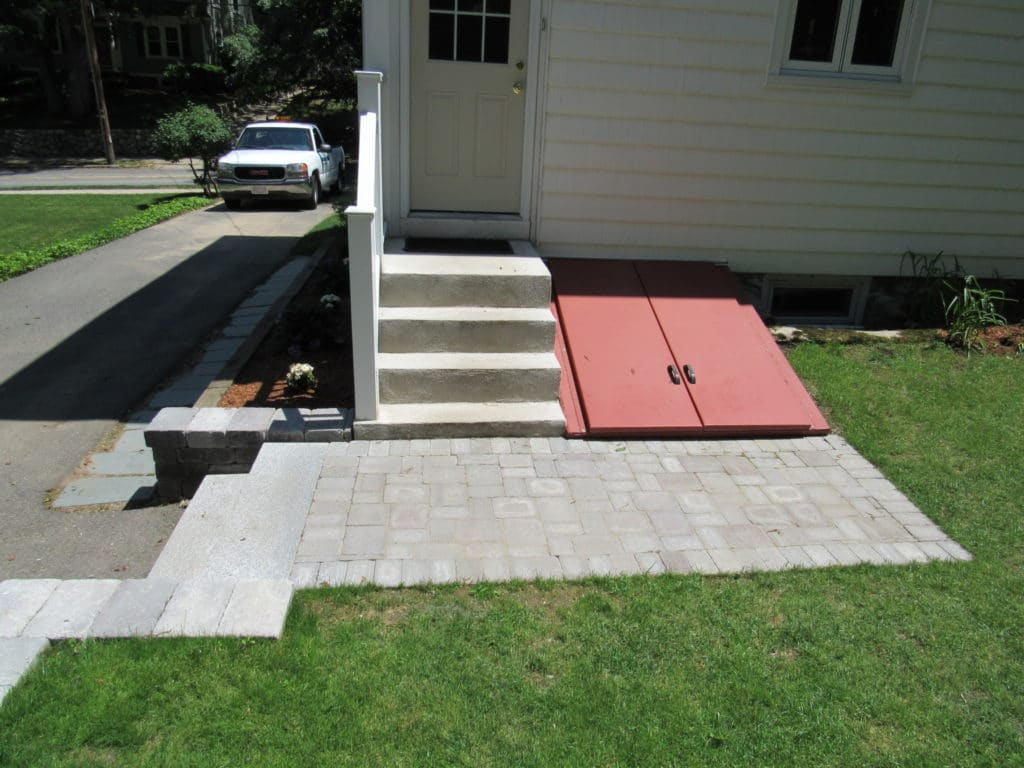 Outdoor Fire Pits Installed by Gerrior Corp. Woburn MA