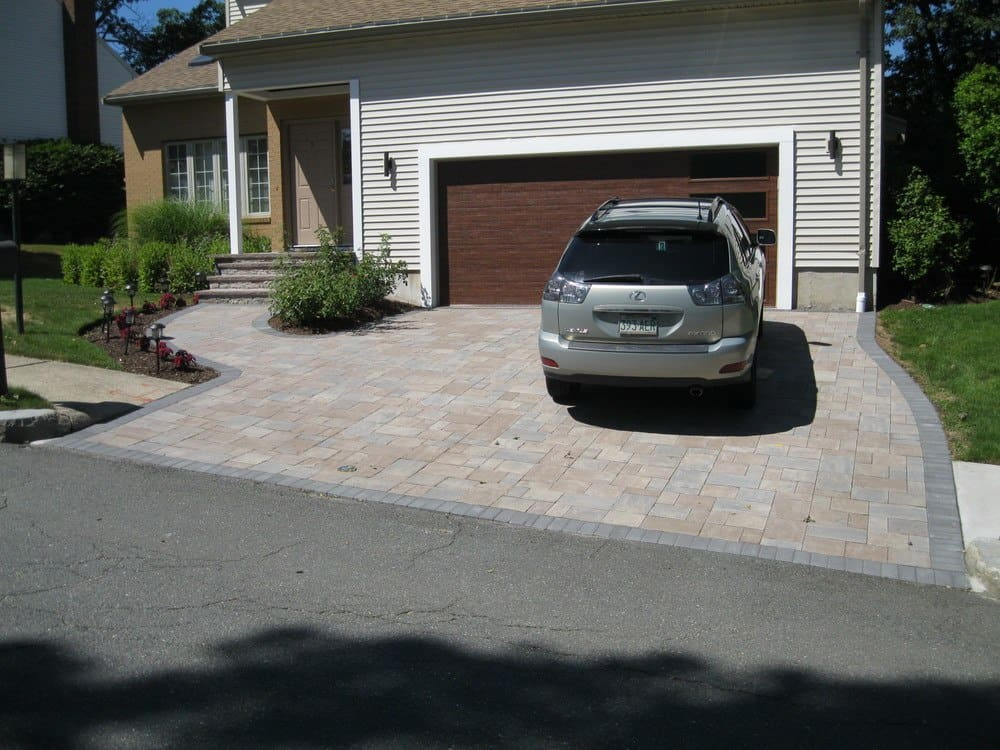 Driveway Pavers Installation by Gerrior