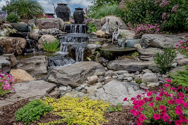 Landscape Water Features and Waterfalls