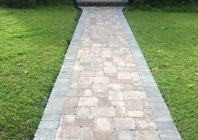 Walkway Installation in Wakefield MA by Gerrior Masonry