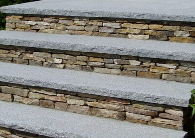 New Stairs Installed by Gerrior Masonry