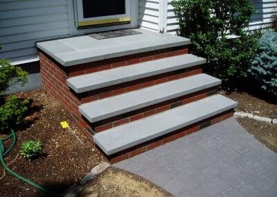 Brick-Stairs-w-Bluestone-Treads