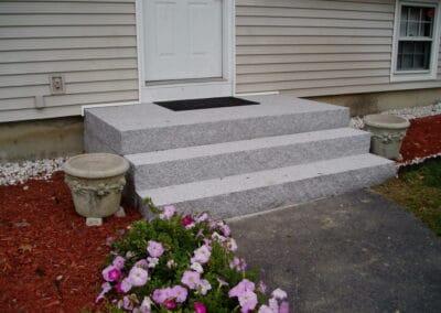 Solid Granite Stairs