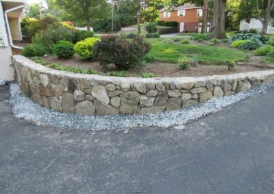 Stone Wall Fieldstone Wall w Concealed Joints
